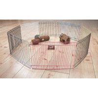 TRIXIE Enclos metal verni - O86cm - Pour rongeur