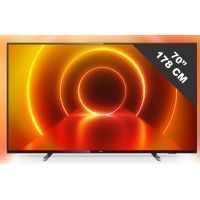 TV LED - LCD 70 pouces PHILIPS 4K UHD, 70 PUS 7805/12
