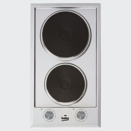 Beko HDCE 32200 X - Table de cuisson électrique - 2 plaques