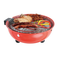 BARBECUE ELEC. DE TABLE ROUGE 30 CM BE-NOMAD - DOC170R