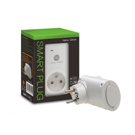 NEW DEAL SPEco+ FR Prise connectée Wi-Fi smart plug