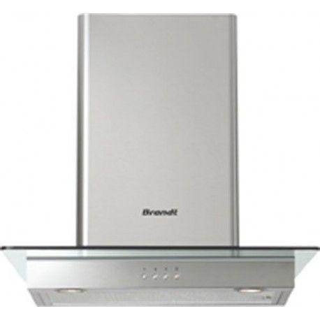 Brandt AD1186X - Hotte - hotte décorative -
