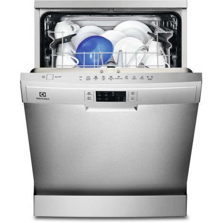 ELECTROLUX ESF5528LOX Lave-vaisselle 60 cm - 13 couverts - A + - 45 dB - Inox - 6 programmes