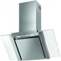 Brandt AD1578X - Hotte - hotte décorative - largeur : 90 cm - profondeur : 40.5 cm - evacuation & recyclage - acier inoxydable