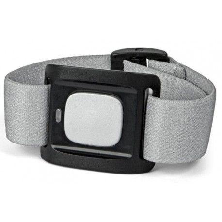 Bracelet médaillon d'alerte connecté Bluetooth DORO - Argent/Noir