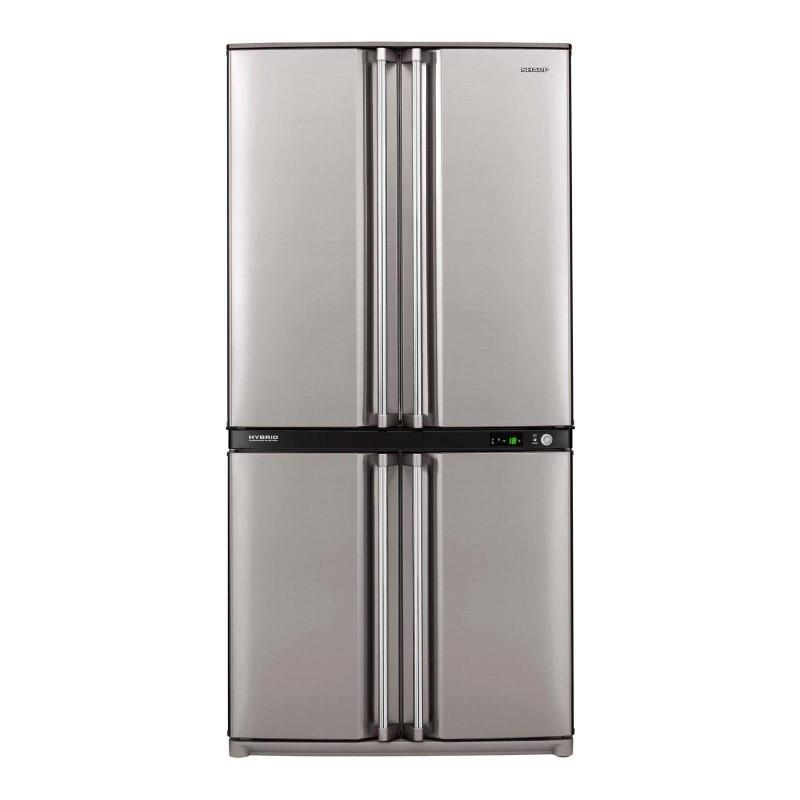 Refrigerateur americain sharp sjf740stsl sharp for Refrigerateur americain miroir
