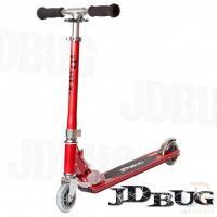 Trottinette Pro Street - JD Bug Original - Rouge mat