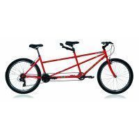 "VELO TANDEM GALAXY 26"" - ROUGE"