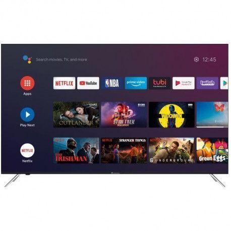 TV QLED 65 pouces CONTINENTAL EDISON 4K UHD A, CEQLED65SA20B7