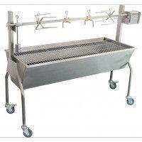 Barbecue Charbon Team TKG GRB 1001 rotisserie - Spécial méchoui