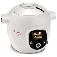 Moulinex Cookeo + USB YY2943FB - 1600 W - 6 L - Blanc/Chrome