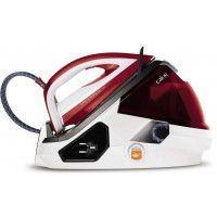 Calor Pro Express Care GV9061C0 - Centrale vapeur - semelle : Durilium Autoclean - 2400 Watt - blanc/rouge