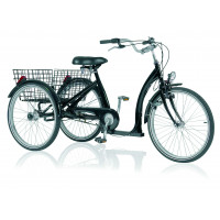 "VELO TRICYCLE STANDARD 3vit 24"" - NOIR"