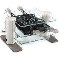 Machine à raclette transparente en verre trempé - 600 W LAGRANGE