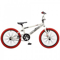 "Vélo BMX Rooster BIG DADDY 20"" - blanc/rouge (RS124)"