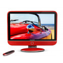 TV LED 32'' SCHNEIDER FEELING'S LED32RED - FULL HD - USB - ROUGE