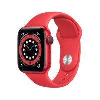 Apple Watch Series 6 GPS + Cellular, 40mm Boitier en Aluminium PRODUCTRED avec Bracelet Sport PRODUCTRED