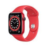 Apple Watch Series 6 GPS + Cellular, 44mm Boitier en Aluminium PRODUCTRED avec Bracelet Sport PRODUCTRED