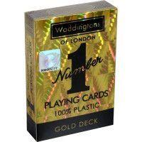 WADDINGTONS N?1 - Or - Jeu de 54 cartes