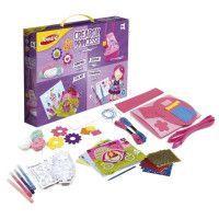 JOUSTRA - Creabox Princesse - Un coffret creatif des petites princesses avec plein dactivites !