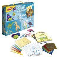 JOUSTRA - Creabox Aventurier - Un coffret creatif des petits aventuriers avec plein dactivites !