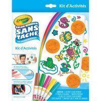CRAYOLA - Kit dActivites Color Wonder