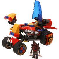 Vehicule Wise Blocks Captor Alloy + 2 figurines - Jeu de construction - EU388017