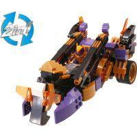 Vehicule Wise Blocks Deserteon transformable 2 en 1 + 1 figurine - Jeu de construction - EU388024
