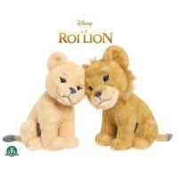 GIOCHI PREZIOSI - Le Roi Lion - Le Film - Peluches 17 cm Simba + Nala Calins