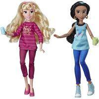 Disney Princesses - Poupees tendances Comfy Squad Jasmine et Aurore - 30 cm