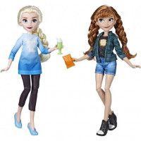 Disney Princesses La Reine des Neiges - Poupees tendances Comfy Squad Elsa et Anna - 30 cm