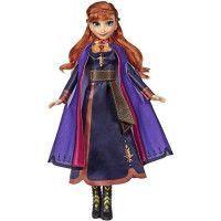 Disney La Reine des Neiges 2 - Poupee Anna chantante francais - 26 cm