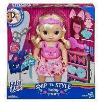 Baby Alive - Coiffure Magique - Poupee Cheveux Blonds