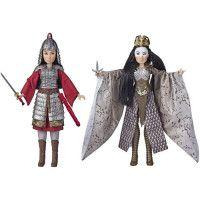 Disney Princesses - Poupees Princesses Disney Mulan et Xianniang - 30 cm