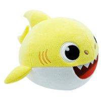Baby Shark - Peluche Baby Shark danse et chante 18 cm - bebe requin - Jaune