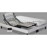Sommier de relaxation TPR MERAL .BAIA3 80X200 CENDRE