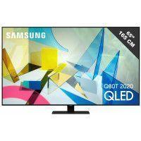 TV QLED 65 pouces SAMSUNG 4K UHD B, QE 65 Q 80 T
