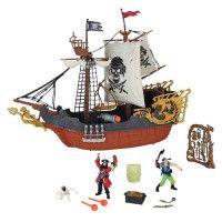 Bateau Pirates avec 5 accessoires