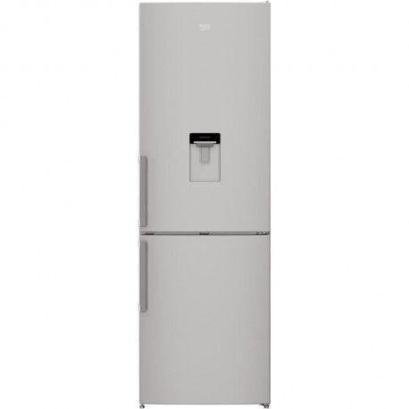 Réfrigérateur combiné 295L Froid Brassé BEKO 60cm F, CRCSA295K31DSN