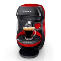 BOSCH - TASSIMO - T10 HAPPY - Machine a cafe multi-boissons rouge et anthracite