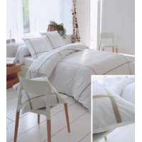 TRADILINGE Housse de couette + 2 taies d'oreiller TRADILINGE .SELECT LIN 260X240