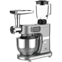 CONTINENTAL EDISON Robot patissier multifonctions - 1000 W - Gris