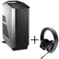 PC Gamer - ALIENWARE R8 - i5-9600K - RAM 16Go - 1To + 256Go SSD - RTX2070 8Go -Watercooling - W10 + Casque Alienware Offert