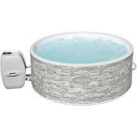 Spa gonflable rond Lay-Z-Spa Vancouver AirjetPlus Decor pierre 155 x 60 cm