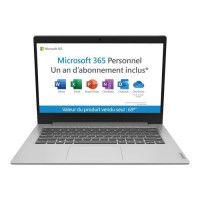 PC portable Ultrabook - LENOVO Ideapad IP 1 14ADA05 - 14HD - AMD 3020E - RAM 4Go - Stockage 64Go - Win10-AZERTY