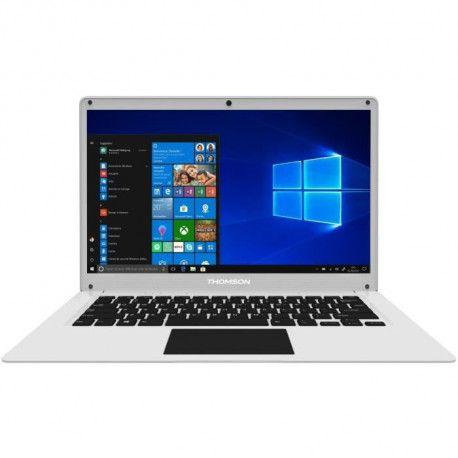 PC Portable - THOMSON NEO14CWSP - 14,1 HD - Intel Celeron - RAM 4Go - 64Go eMMC + 64Go Free Micro-SD - Windows 10 S - AZERTY