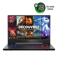 PC Portable Gamer ASUS ZEPHYRUS G15-GA502IV-062 -15,6 FHD 144Hz - AMD Ryzen 9 - RAM 16Go - 512GoSSD - RTX 2060 6Go MaxQ - Sans O