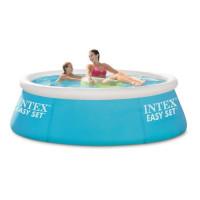 INTEX Kit piscine ronde autoportee Easy Set - O182 x 50cm