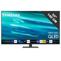 TV LED - LCD 55 pouces SAMSUNG 4K UHD 122.76cm, QE55Q80A