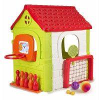 Maison pour enfant Multi-Activites 6 en 1 - plastique anti-UV - FEBER - multi-jeux